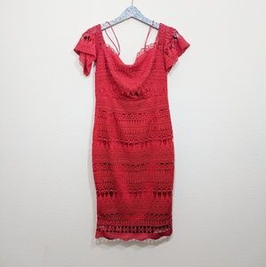 Free People Dresses - Free People Saylor Mariah Lace Crotchet Midi Dress